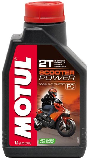Масло моторное  SCOOTER POWER 2T 1л. MOTUL 832101