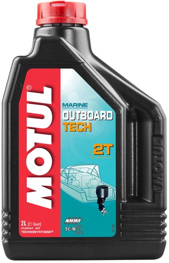 Масло моторное  OUTBOARD TECH 2T   2л. MOTUL 851721