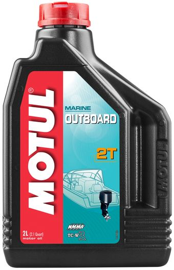 Масло моторное  OUTBOARD 2T 2л. MOTUL 851821
