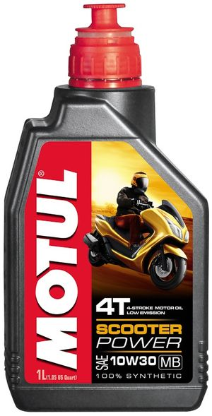 Масло моторное  SCOOTER POWER 4T 10W-30 MB  1л. MOTUL 832201