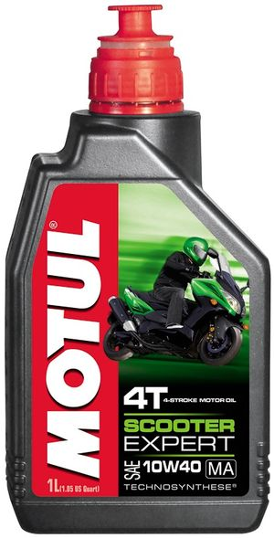 Масло моторное SCOOTER EXPERT 4T 10W-40 MA 1л. MOTUL 831901