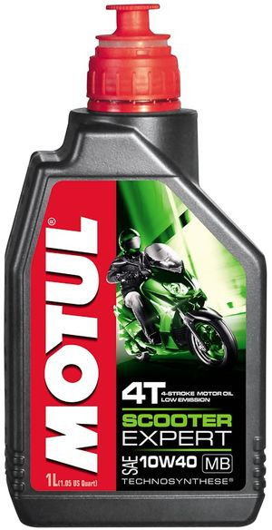 Масло моторное SCOOTER EXPERT 4T 10W-40 MB 1л. MOTUL 831701