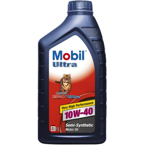 Масло моторное Mobil Ultra 10w40 1л. MOBIL MOBILULTRA10W401L